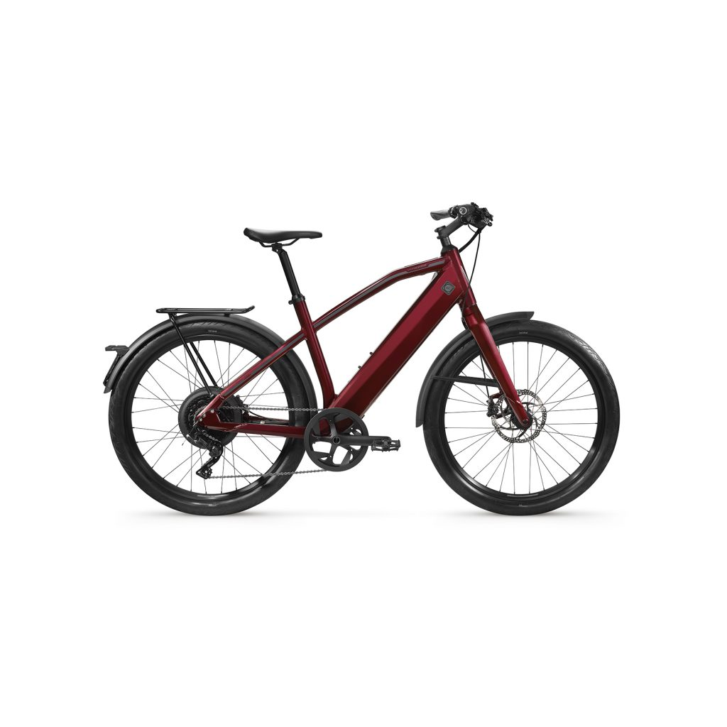 ST1 dark red sport L